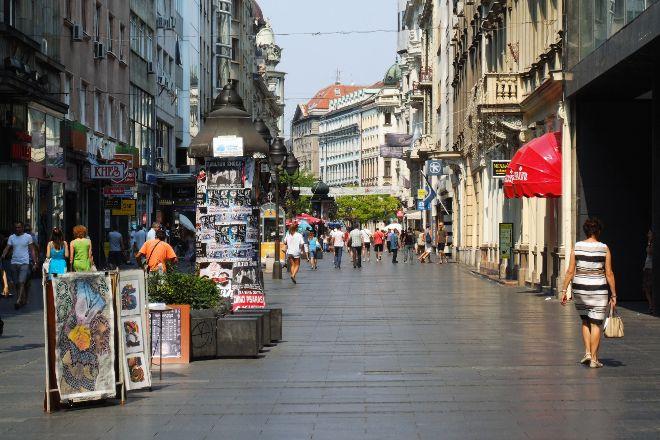 Knez Mihailova, Belgrade, Serbia