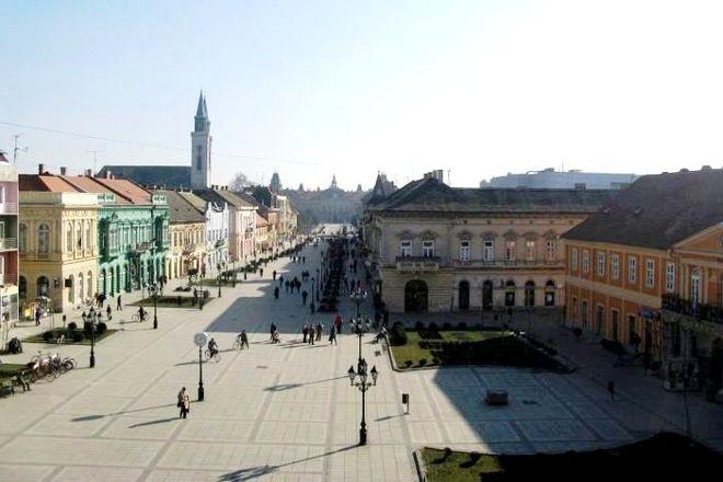 Main Street (Glavnjak), Sombor, Serbia