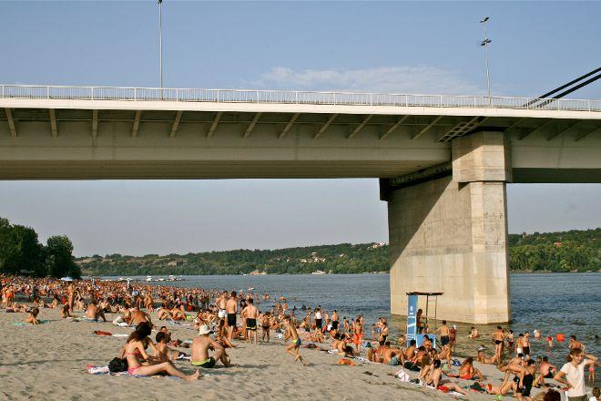 Strand, Novi Sad, Serbia