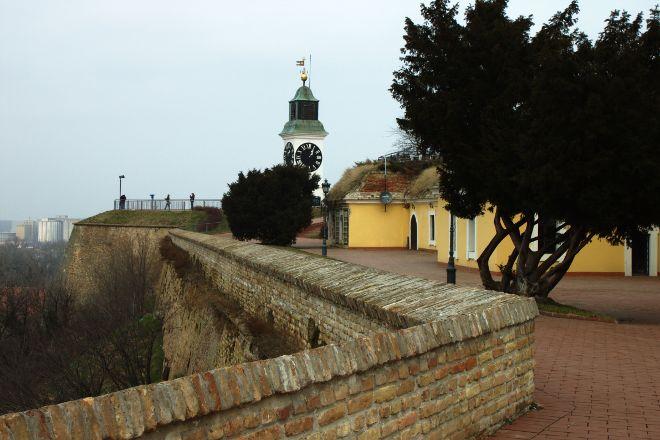 The Clock Tower, Petrovaradin, Serbia