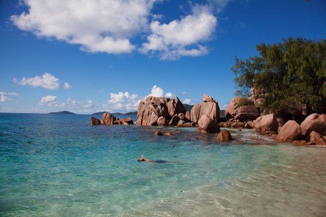 Anse Caiman, La Digue Island, Seychelles