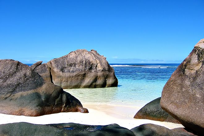Baie Lazare Public Beach, Mahe Island, Seychelles