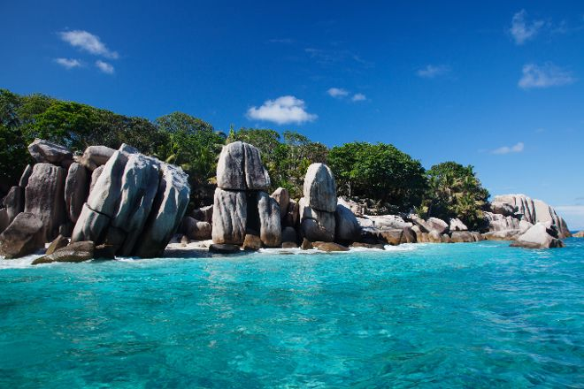 Coco Island, La Digue Island, Seychelles