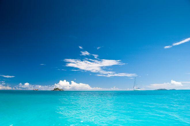 Ilot Saint-Pierre, Praslin Island, Seychelles