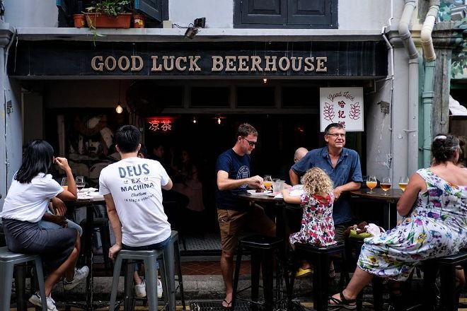 Good Luck Beer House, Singapore, Singapore