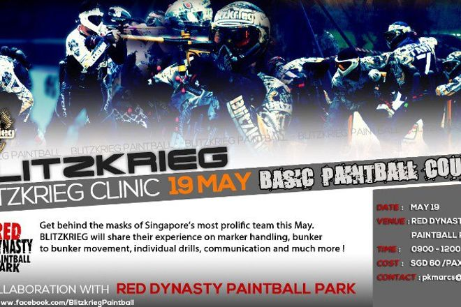 Red Dynasty Paintball Park, Singapore, Singapore