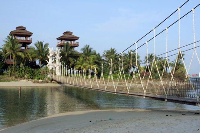 Southernmost point of Asia, Sentosa Island, Singapore