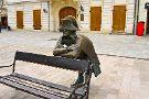 Napoleon's Army Soldier Statue