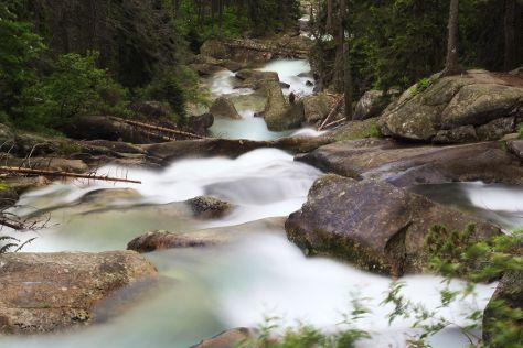 Cold Water Waterfall, Stary Smokovec, Slovakia