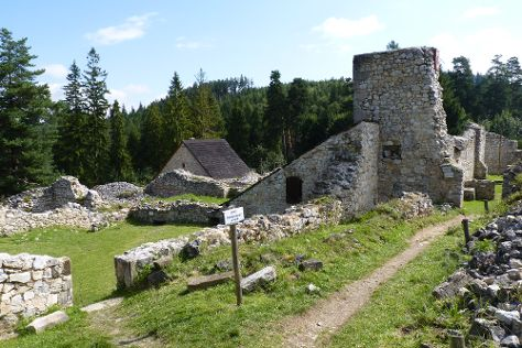 Kartuzian monastery ruins, Hrabusice, Slovakia