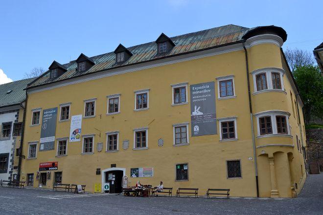 Berggericht - Mineralogical Exposition, Banska Stiavnica, Slovakia
