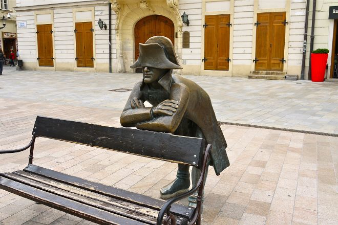 Napoleon's Army Soldier Statue, Bratislava, Slovakia
