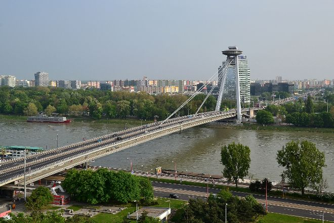 New Bridge (Novy Most), Bratislava, Slovakia
