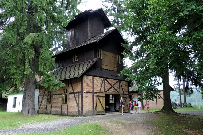 Open-Air Mining Museum (SMM), Banska Stiavnica, Slovakia