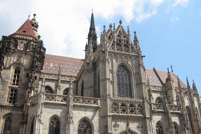 St Elizabeth's Cathedral (Dom Svatej Alzbety), Kosice, Slovakia
