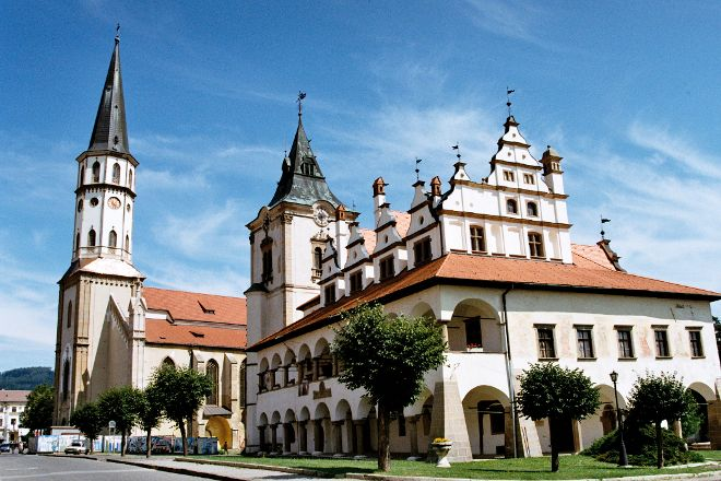 St. Jacob's Church, Levoca, Slovakia