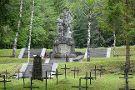 Log Pod Mangartom Military Cemetery