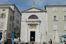 Church of St Peter, Piran, Slovenia