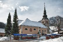 Church of the Assumption of Virgin Mary, Kranjska Gora, Slovenia
