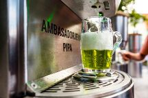 Green Gold Beer Fountain, Zalec, Slovenia