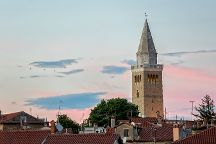 Koper Cathedral and Bell Tower, Koper, Slovenia