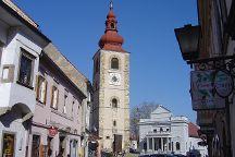 Ptuj City Tower, Ptuj, Slovenia