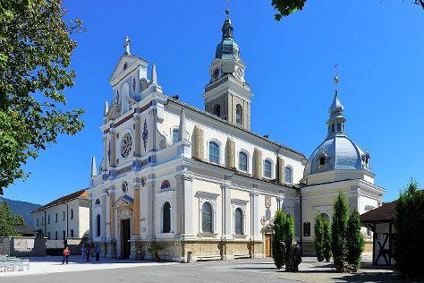 Basilica of Mary Help of Christians, Brezje, Slovenia