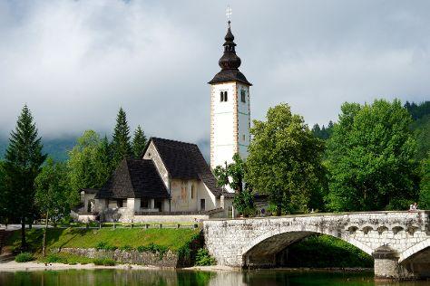 Church of St John the Baptist, Ribcev Laz, Slovenia