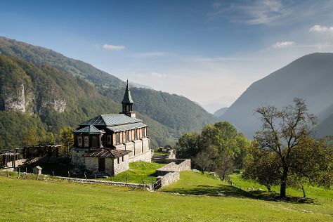 Memorial Church of the Holy Spirit, Tolmin, Slovenia
