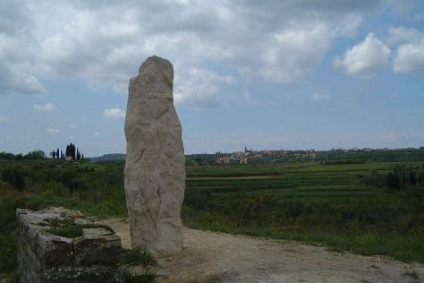 Krkavče Stone, Smarje, Slovenia