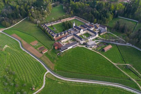 Pleterje Charterhouse Monastery, Šentjernej, Slovenia