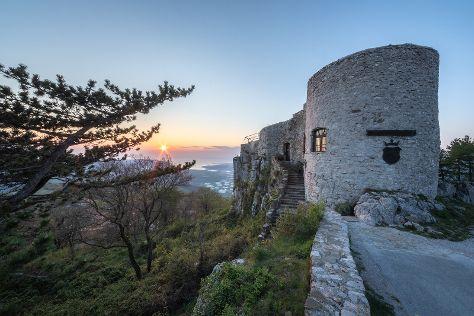 Socerb Castle, Crni Kal, Slovenia