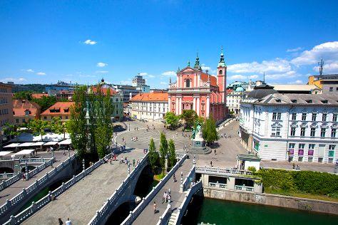 Triple Bridge, Ljubljana, Slovenia