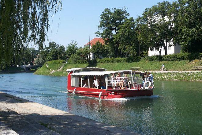 Boat Cruise Emonca - Ljubljana, Ljubljana, Slovenia