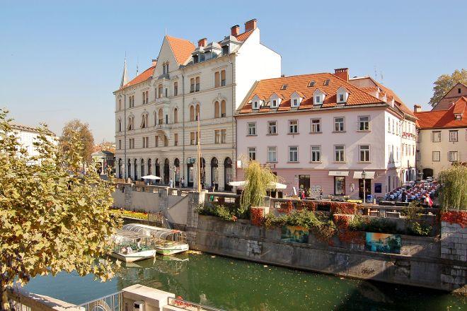 Cankarjevo Nabrežje, Ljubljana, Slovenia