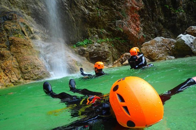 Canyoning Bled, Bled, Slovenia