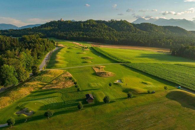 CUBO Golf course Ljubljana, Smlednik, Slovenia