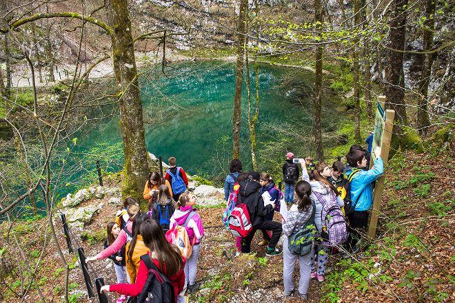 Wild Lake, Idrija, Slovenia