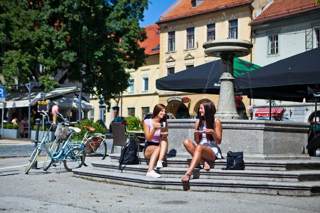 Main Square, Novo Mesto, Slovenia