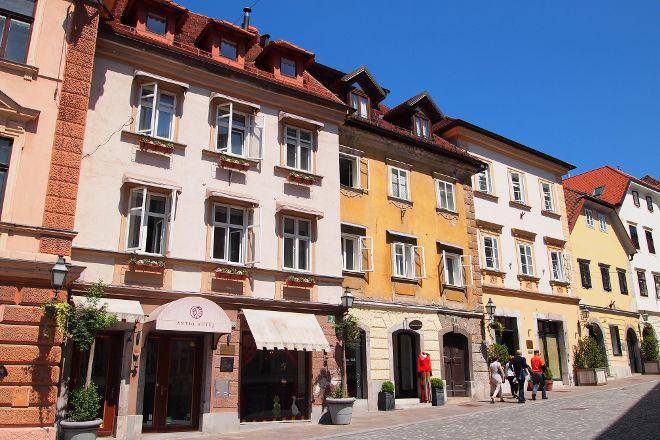 Gornji Trg, Ljubljana, Slovenia
