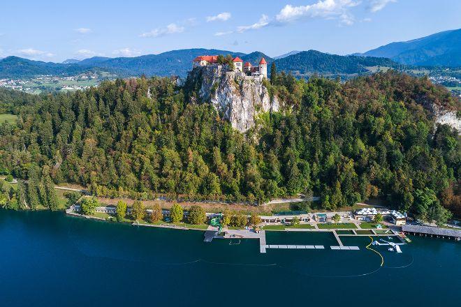 Castle Swimming Area, Bled, Slovenia