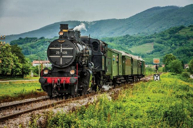 Historical Train of Celje, Celje, Slovenia