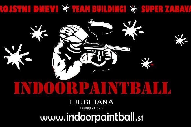 Indoor Paintball Ljubljana, Ljubljana, Slovenia