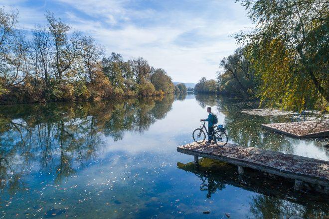 Kolpa River, Metlika, Slovenia
