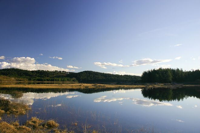 Lake Petelinje, Pivka, Slovenia