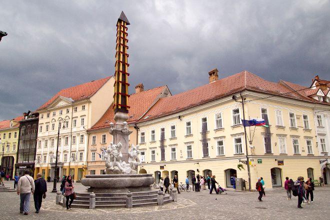 Mestni Trg, Ljubljana, Slovenia