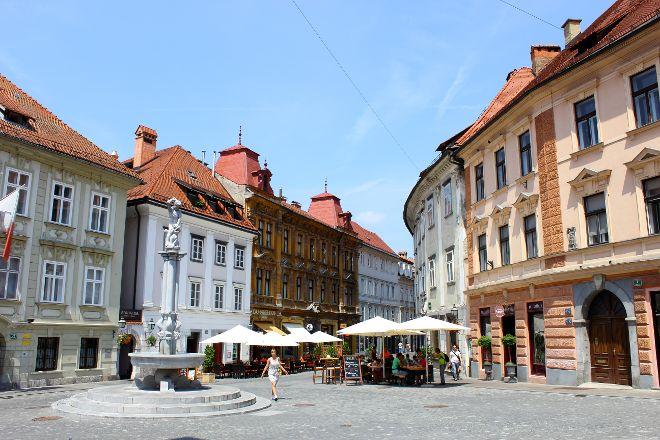 Old Square (Stari trg), Ljubljana, Slovenia