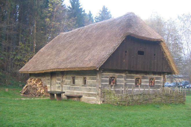 Pleterje Open-Air Museum, Sentjernej, Slovenia