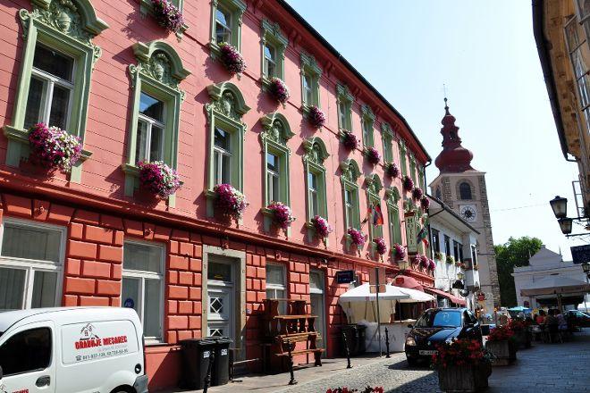 Prešernova Street, Ptuj, Slovenia