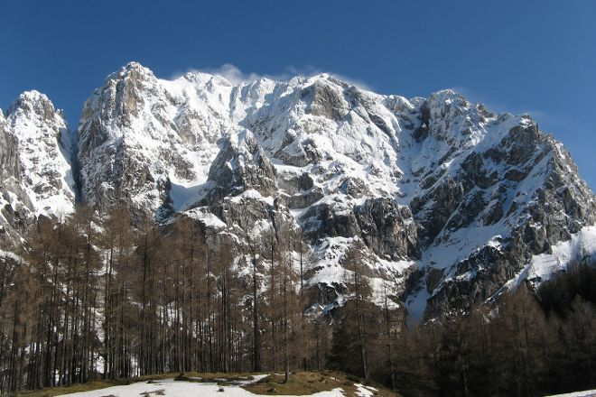 Prisank Mountain Window, Kranjska Gora, Slovenia